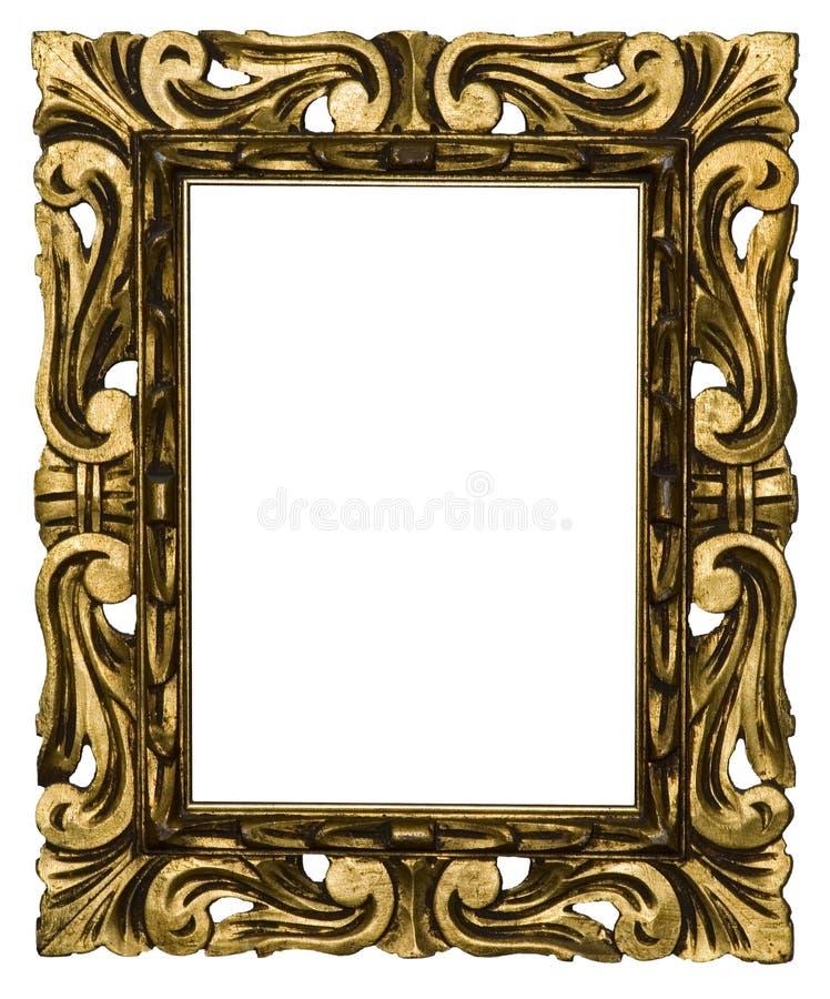 Frame de retrato antigo foto de stock royalty free