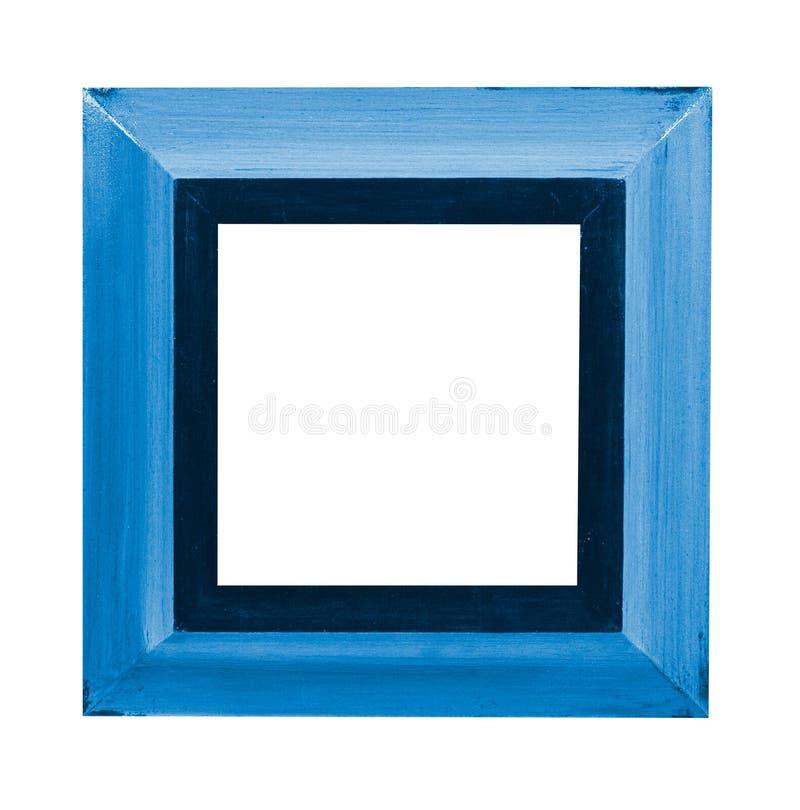 Frame de retrato azul imagem de stock royalty free
