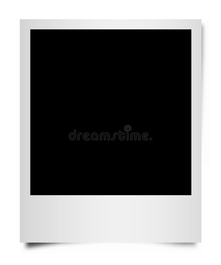 Frame de retrato da película do Polaroid ilustração do vetor