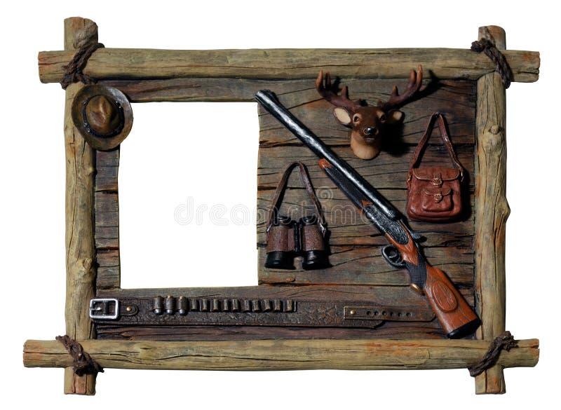 Frame de retrato decorativo imagem de stock