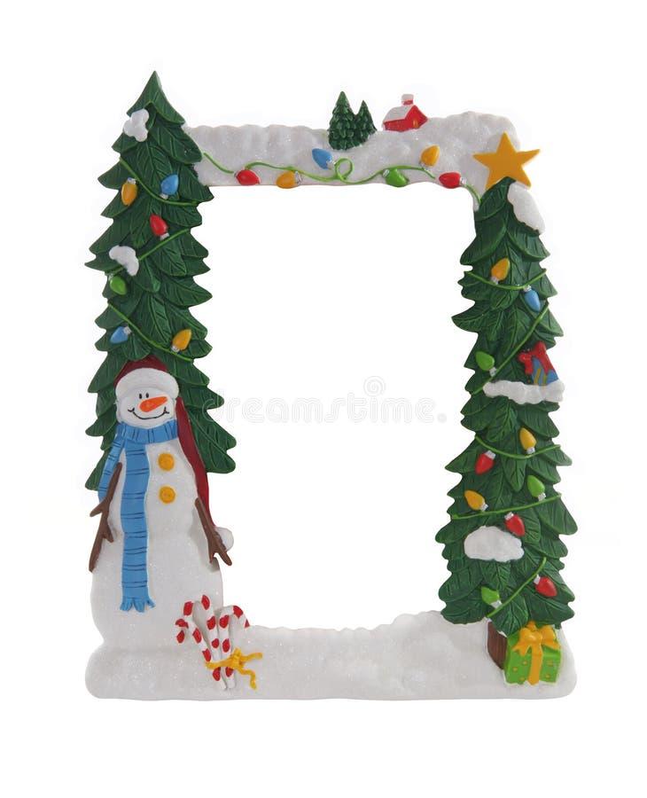 Frame de retrato do Natal fotografia de stock