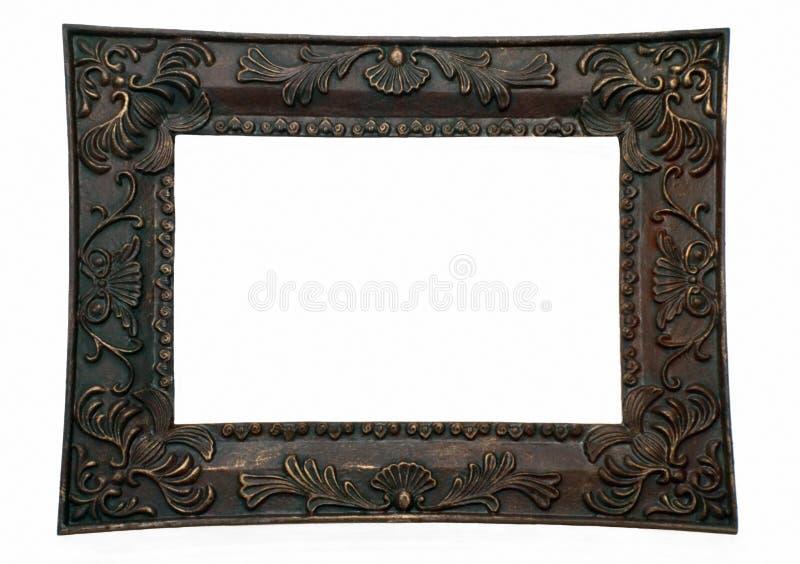 Frame de retrato, escuro foto de stock royalty free