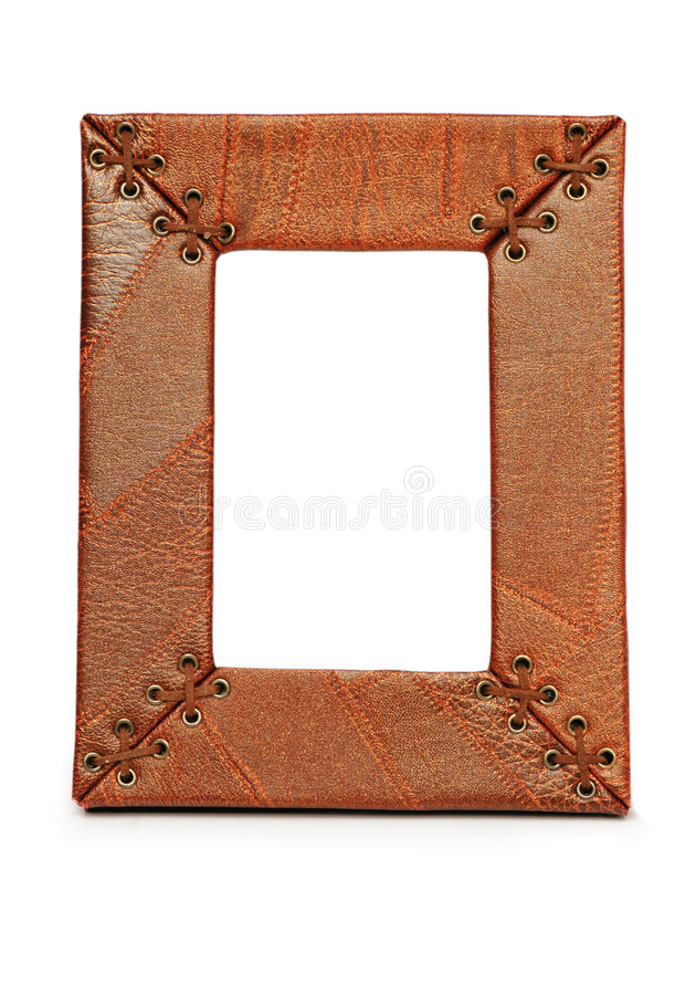 Frame de retrato isolado fotografia de stock royalty free