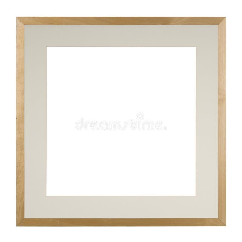 Frame de retrato isolado no branco imagens de stock