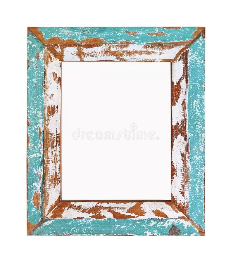 Frame de retrato isolado no fundo branco foto de stock royalty free