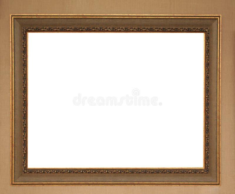 Frame de retrato na parede imagem de stock royalty free