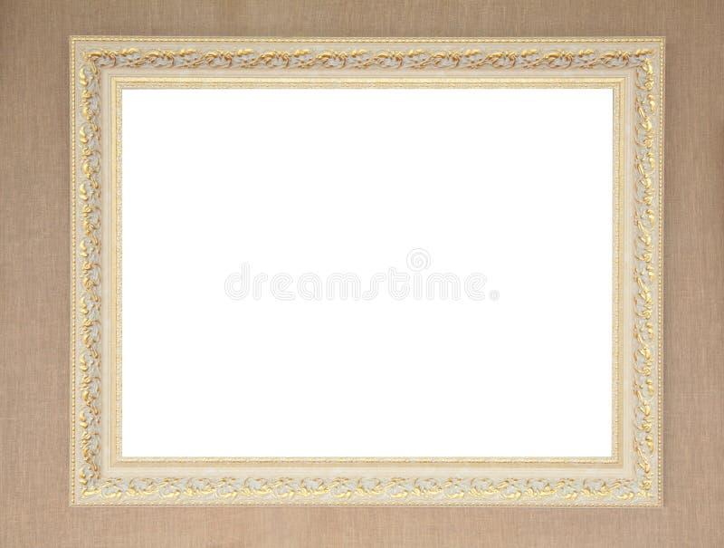 Frame de retrato na parede imagens de stock