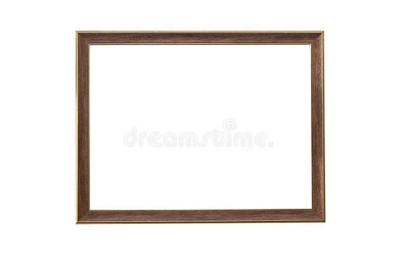 Frame de retrato no fundo branco imagens de stock