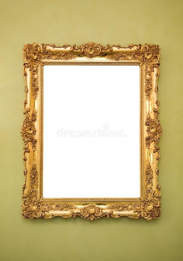 Frame de retrato ornamentado fotos de stock royalty free