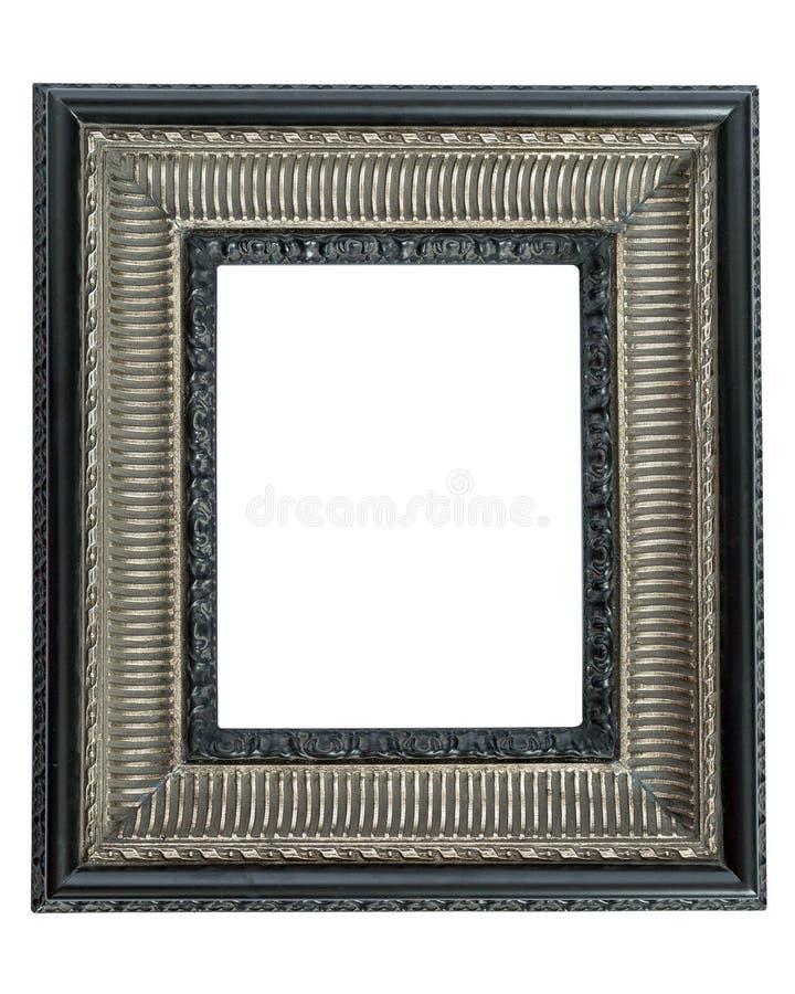 Frame de retrato ornamentado foto de stock