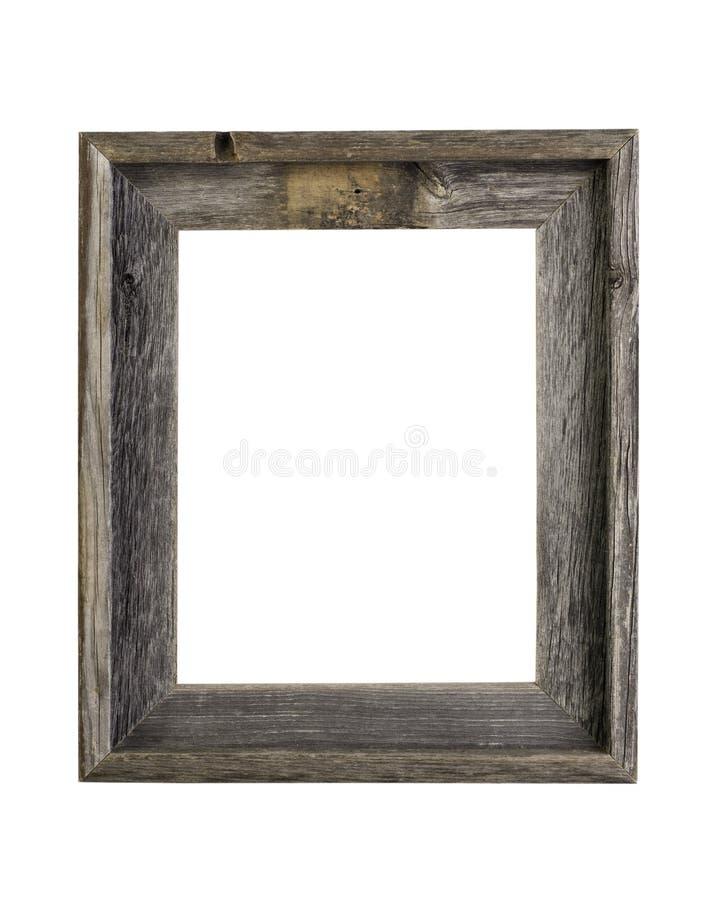 Frame de retrato rústico fotografia de stock