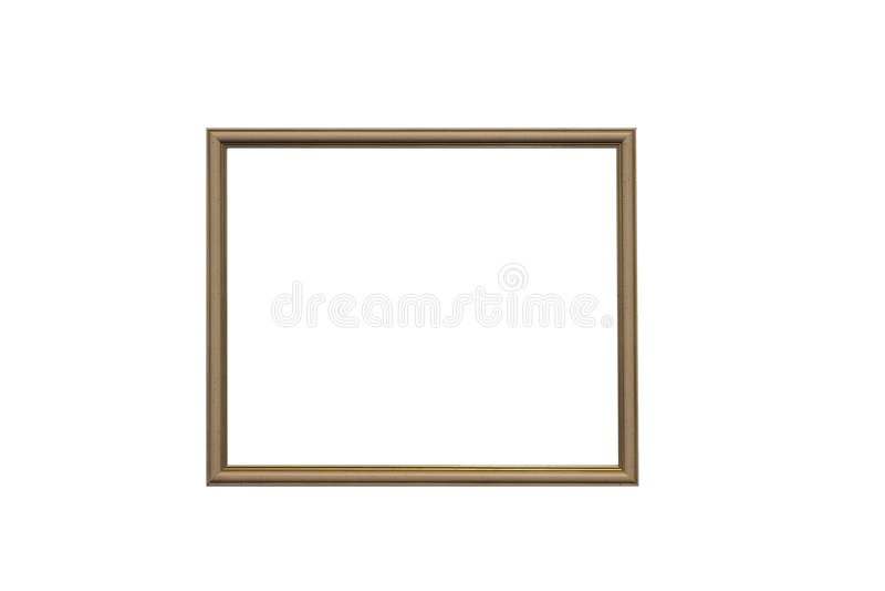 frame de retrato vazio foto de stock