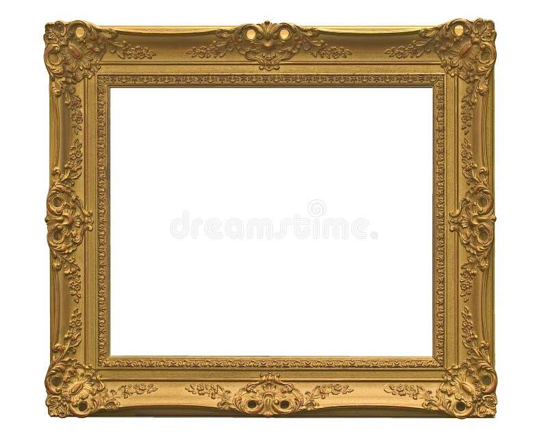frame de retrato vazio (com trajeto de grampeamento) foto de stock