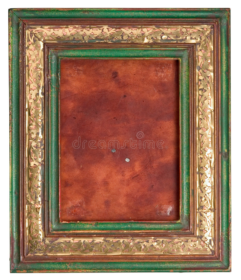 Frame de retrato velho fotografia de stock royalty free
