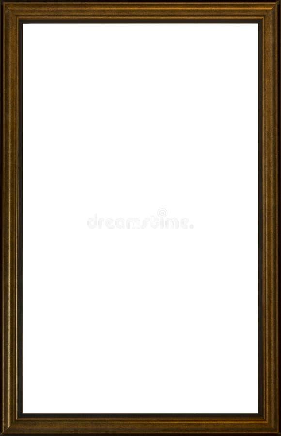 Frame de retrato velho foto de stock