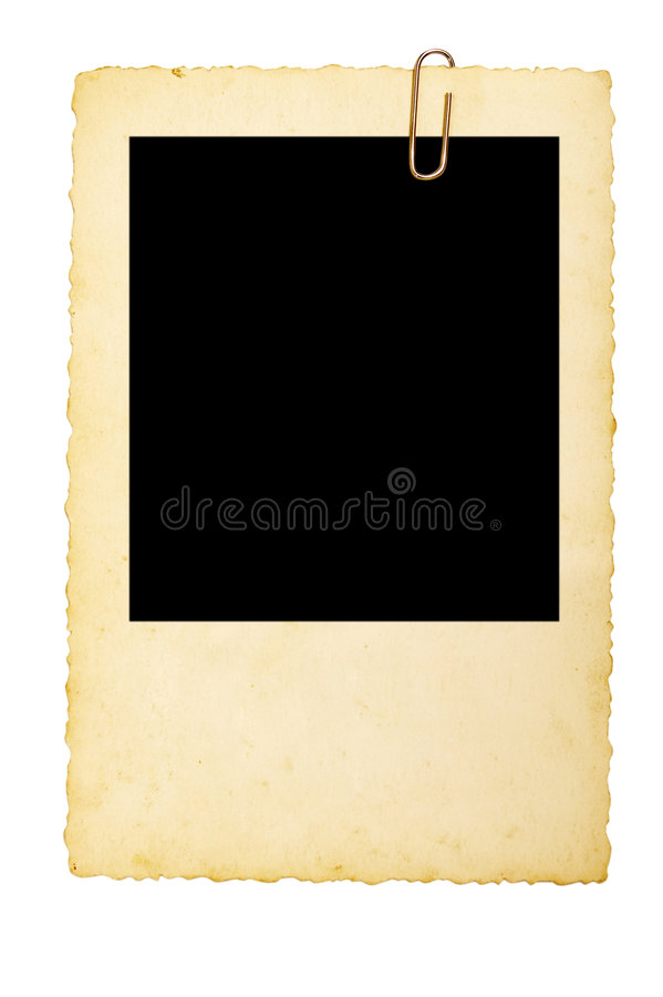 Frame de retrato velho imagem de stock