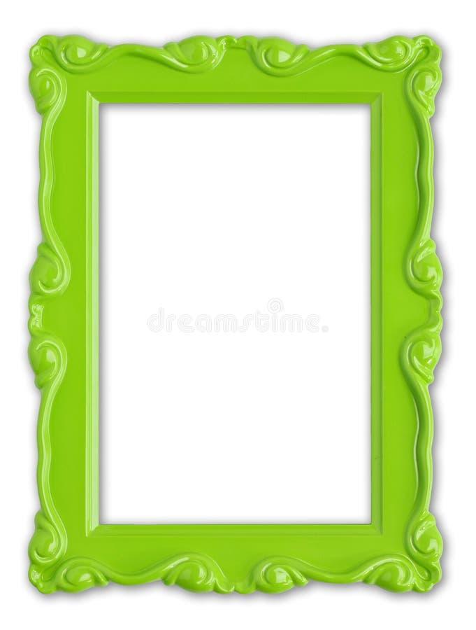 Frame de retrato verde fotografia de stock royalty free