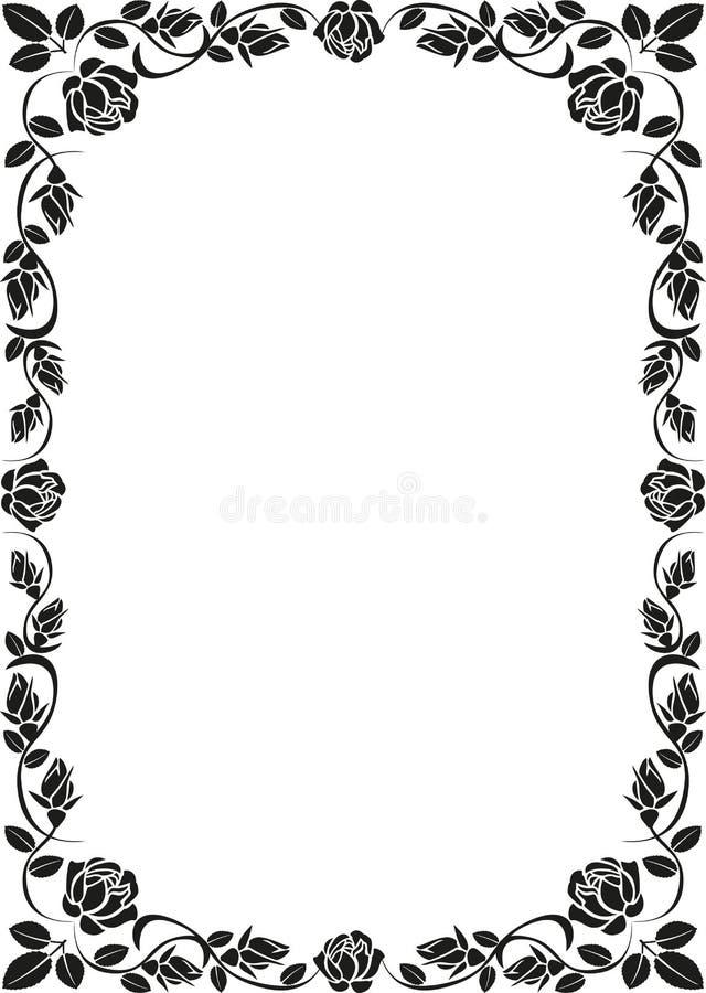 Frame De Rosa Fotos de Stock