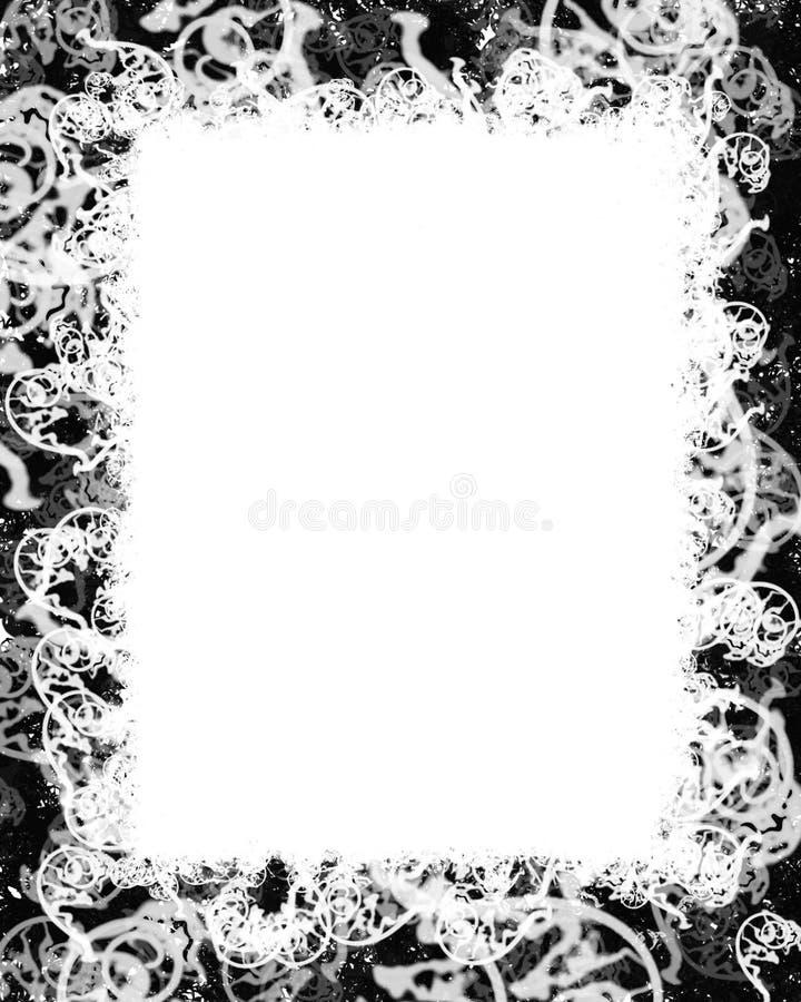 Frame de Swirly. ilustração royalty free