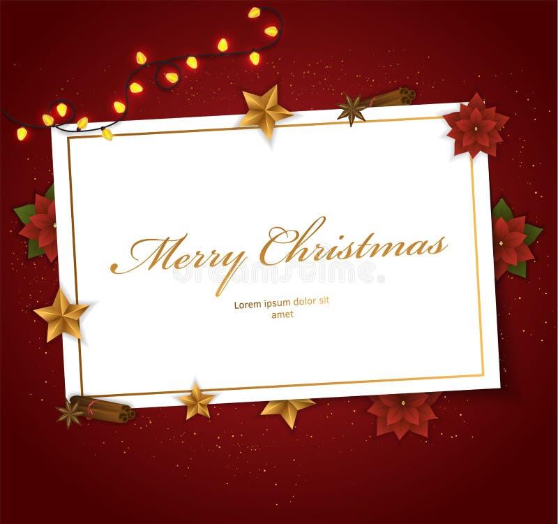 Frame decorativo do Natal