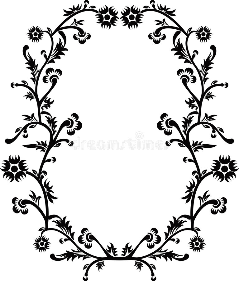 Download Frame decorativo, vetor ilustração do vetor. Ilustração de livro - 525876