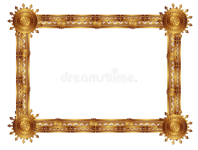 Download Frame stock vector. Image of ornate, decor, circle, abstract - 30596655