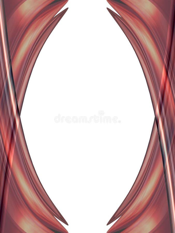Frame difundido ilustração stock