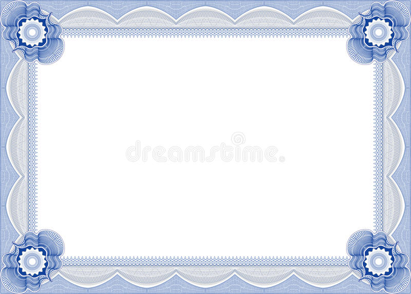 Frame for diploma. vector illustration