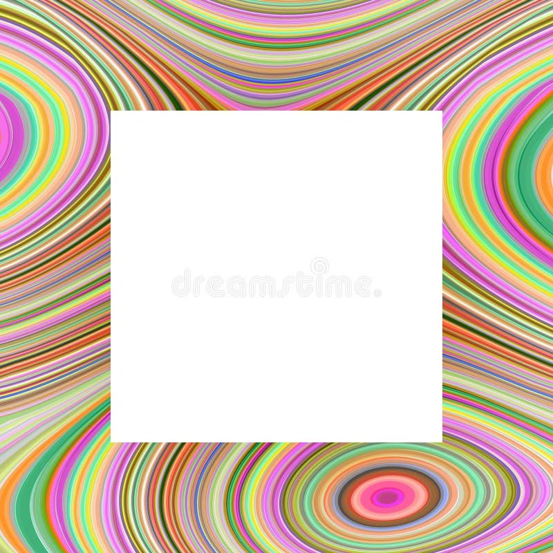 Frame do arco-íris ilustração royalty free