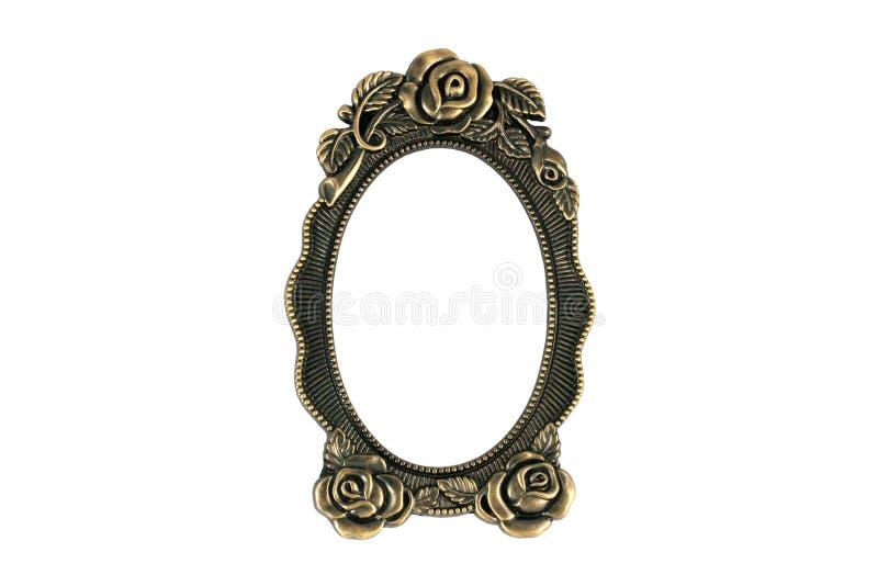 Frame do bronze do vintage foto de stock