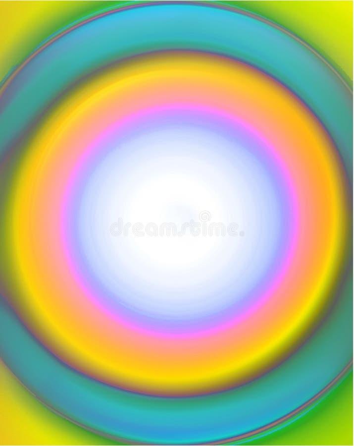 Frame do círculo do Aqua ilustração royalty free