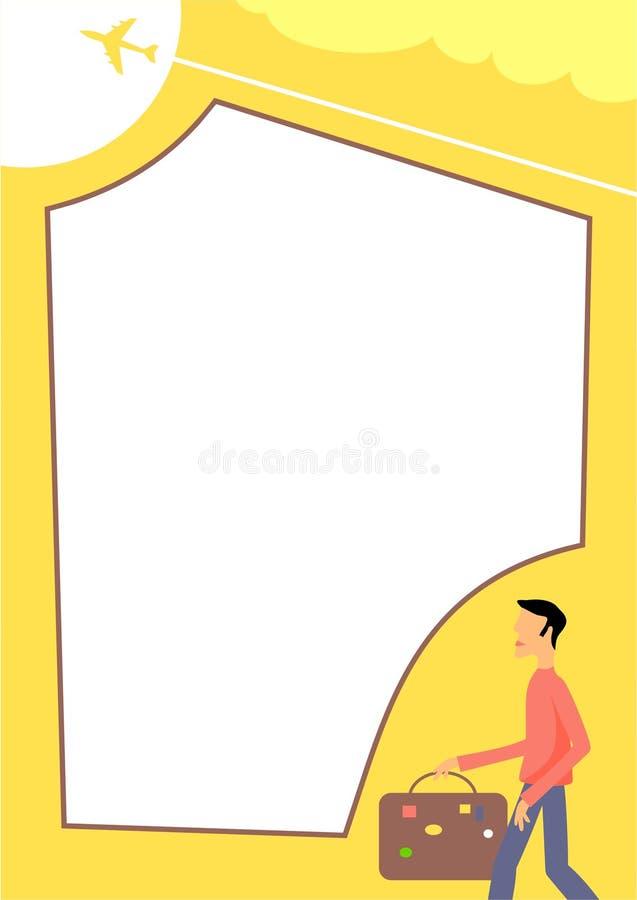 Download Frame do curso ilustração stock. Ilustração de homem, outdoors - 100297