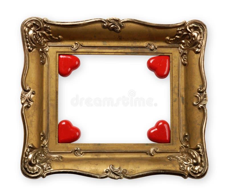 Frame do dia dos Valentim imagens de stock royalty free
