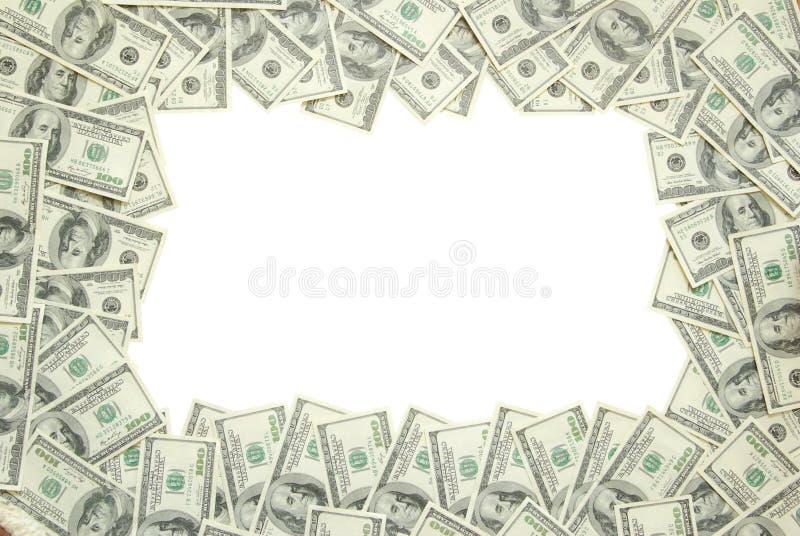 Frame do dinheiro foto de stock