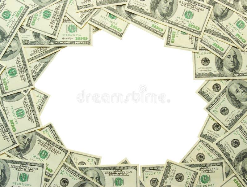 Frame do dinheiro imagem de stock royalty free