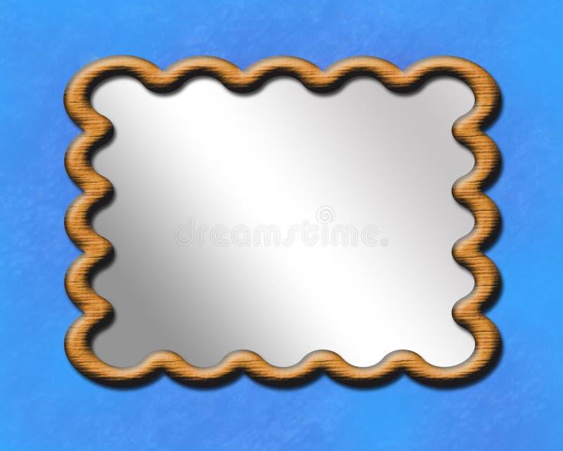 Frame do espelho ilustração royalty free