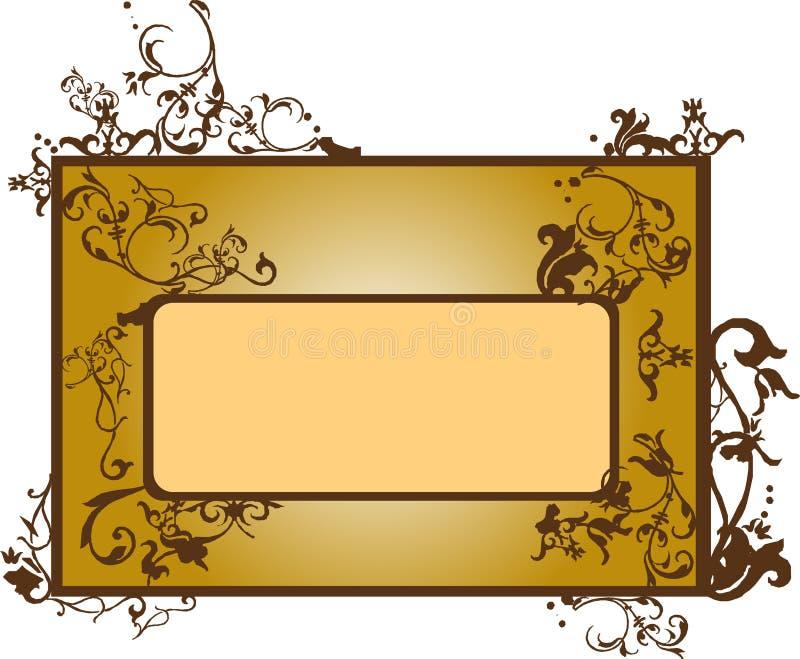 Frame do estilo de Ásia ilustração royalty free