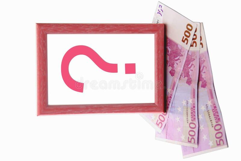 Frame do euro 500 imagem de stock
