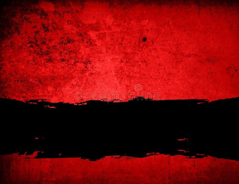 Frame do fundo de Grunge ilustração do vetor