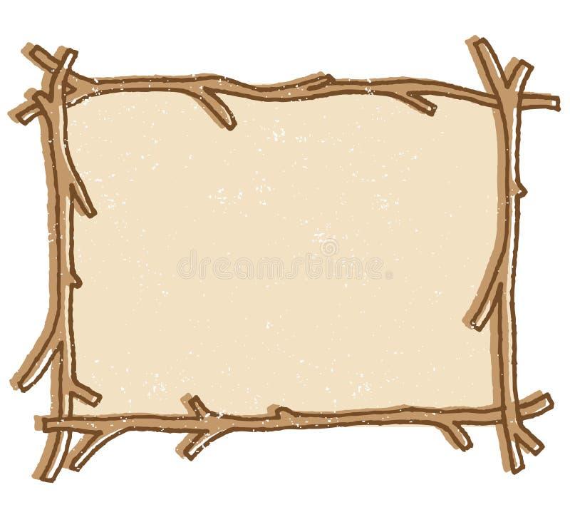 Frame do galho ilustração do vetor