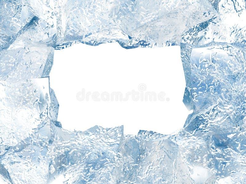 Frame do gelo ilustração stock