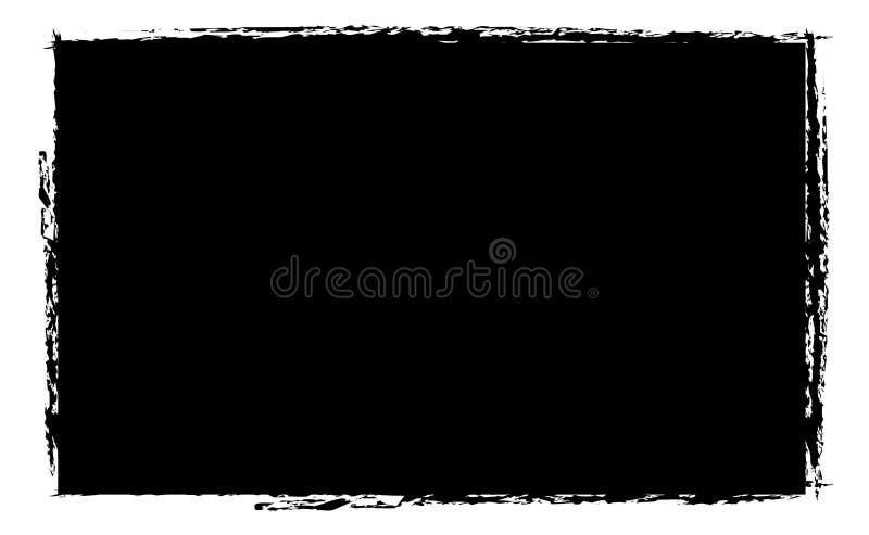 Frame do grunge da foto ilustração royalty free