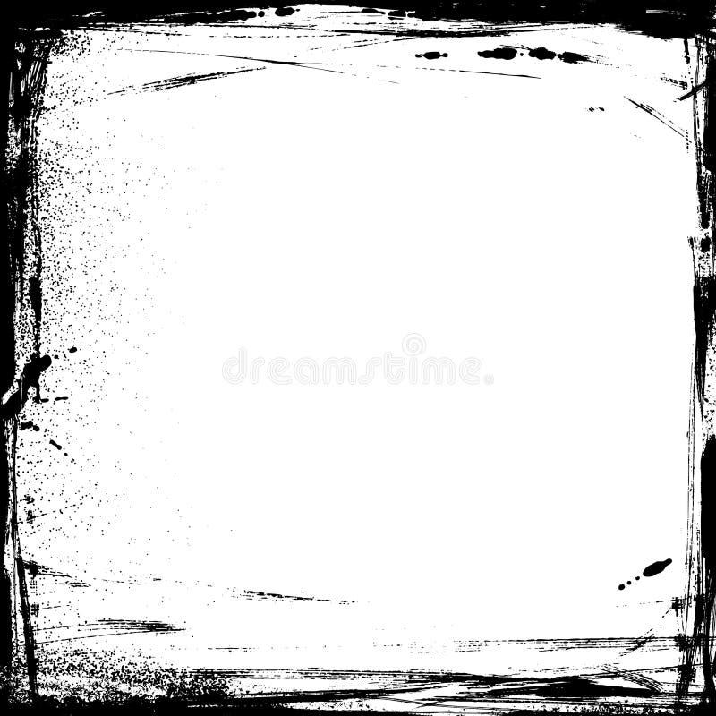 Frame do grunge do vetor ilustração do vetor