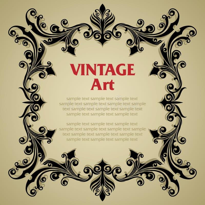 Quadro do molde do vintage fotos de stock royalty free
