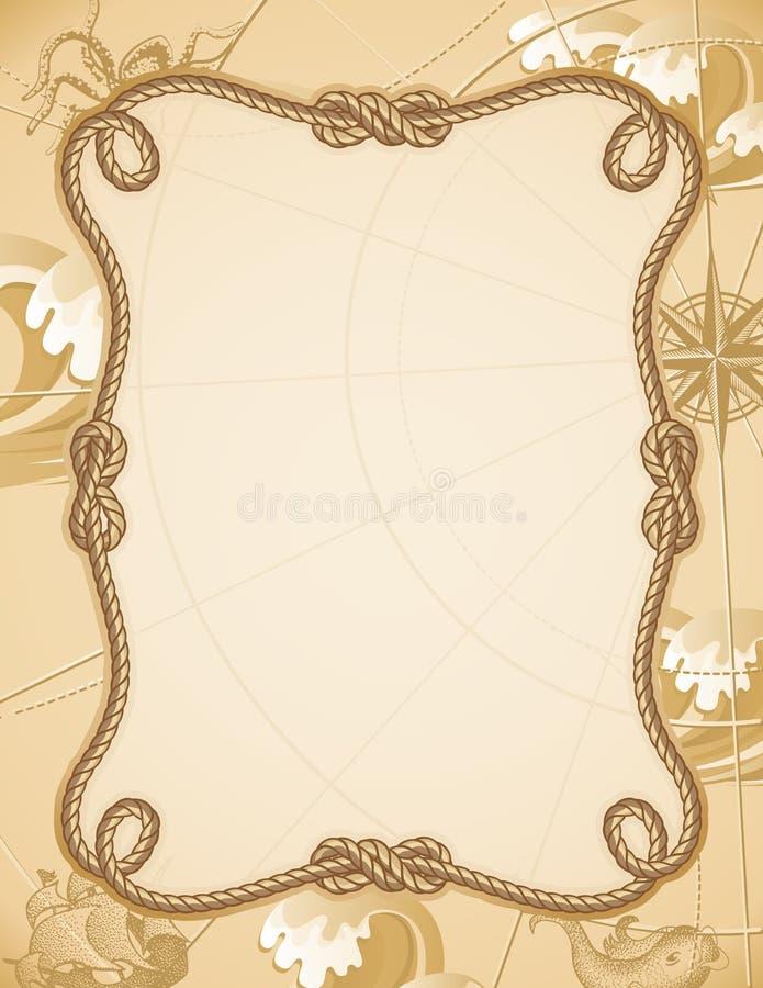 Frame do nó ilustração do vetor