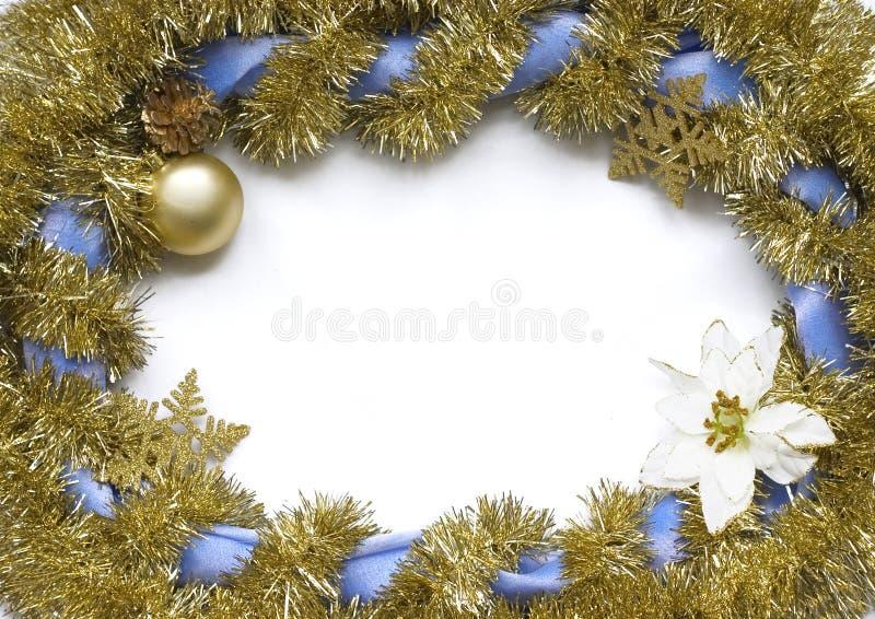 Frame do Natal foto de stock