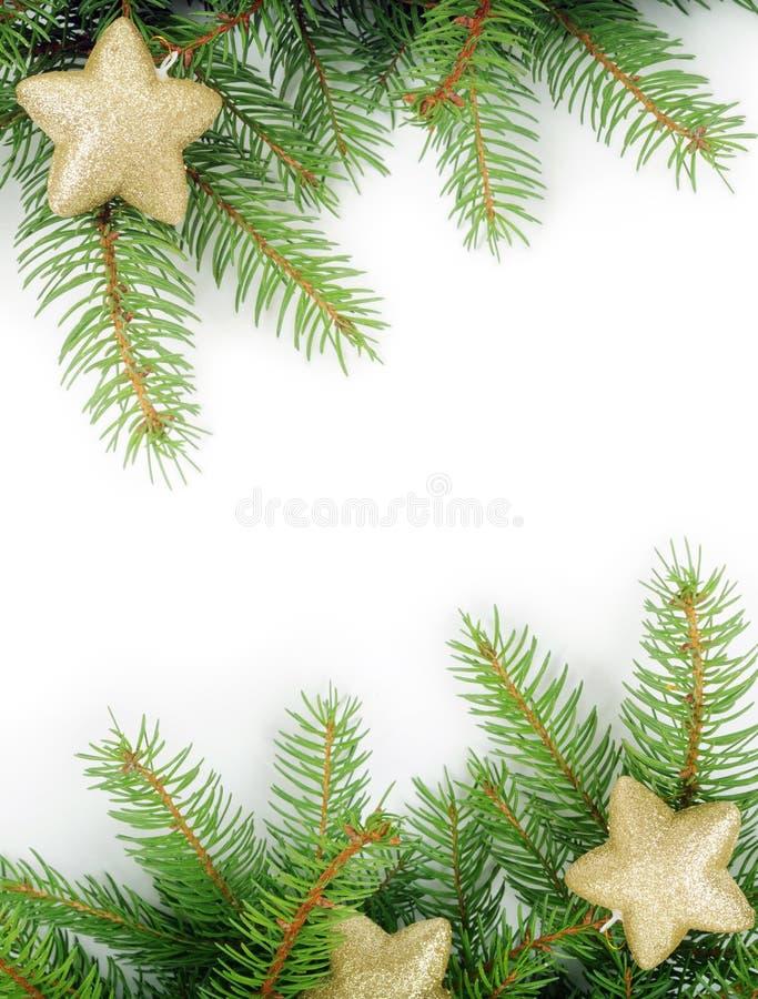 Frame do Natal imagens de stock