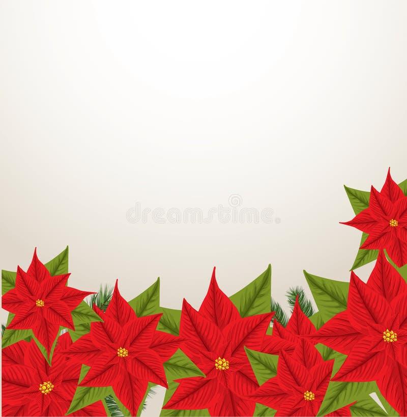 Frame do Natal com espaço para seu texto ilustração do vetor