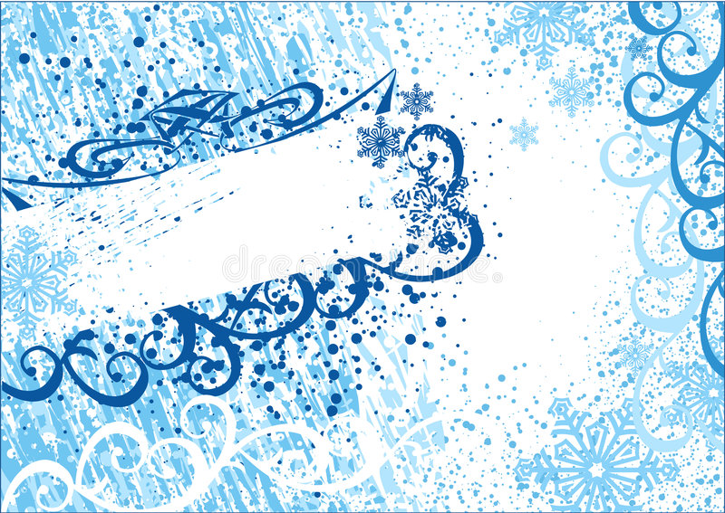 Frame do Natal de Grunge ilustração royalty free
