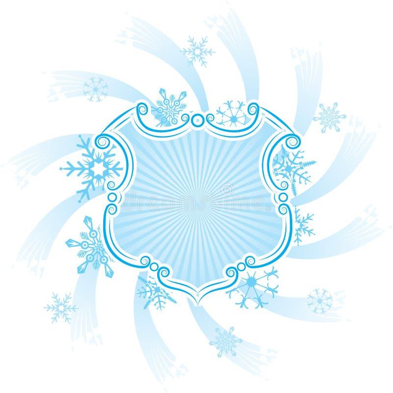 Frame do Natal, elementos para o projeto, vetor ilustração do vetor